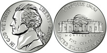 Jefferson Nickel, American Mon...