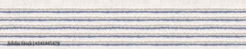 Fotografia, Obraz Seamless french farmhouse broken stripe border pattern