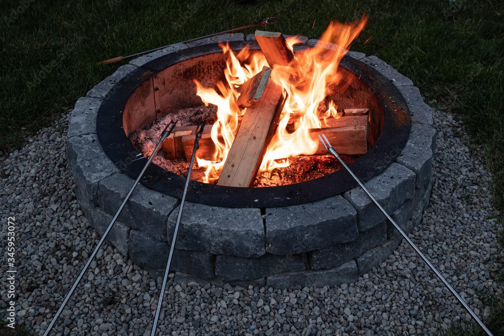 Fototapeta Fire Pit