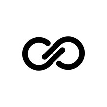 Infinity Symbol Logo. Vector I...