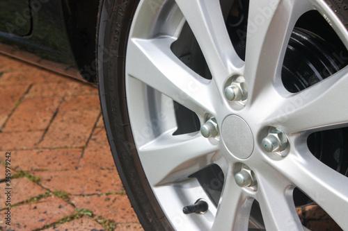 Photo Small alloy wheel