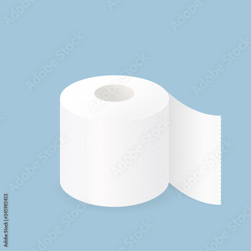 Photo Toilet paper roll