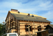 Roofing Contractors Are Instal...