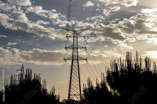 Torre eléctrica 1 Canvas-taulu
