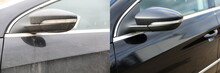 Car Body Part Before And Afte...