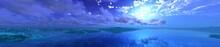 Panorama Of An Alien Landscape...