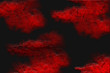 canvas print picture grunge background with red paint