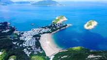 Aerial View Of The Shek O Vill...