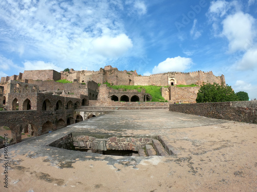 фотография the golconda fort, hyderabad
