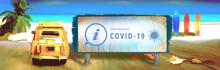 Coronavirus ,  Vacances, Plage...