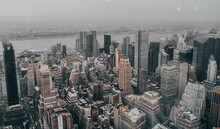 New York From A Great Height. ...