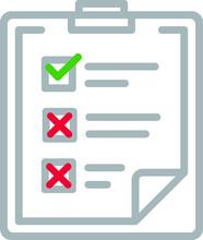 Document List Folder Vector Icon Live Flat
