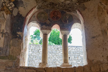 Interior Of Ancient Byzantine ...