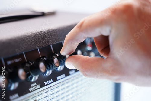 Guitar Amp Canvas Print