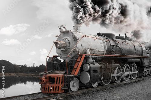 Fototapeta Old Train  obraz na płótnie