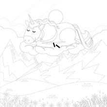Unicorn Vector. Horse Head Sle...