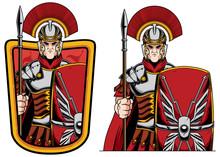 Roman Centurion Mascot