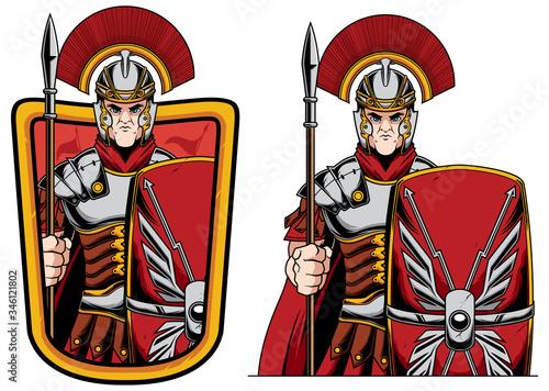 Fototapeta Roman Centurion Mascot
