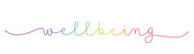 WELLBEING Rainbow-colored Vect...