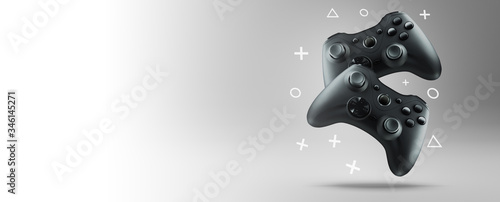 Fotografía The concept of video games