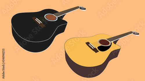 Photo Acoustic guitar (Dreadnought)