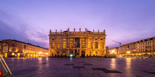 The Central Square Of Turin At...