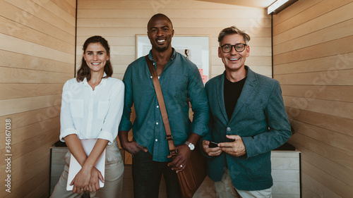 Group of diverse business professionals Fototapete