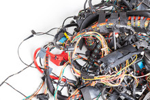 A Tangled Bunch Of Wires With ...