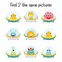 Kids Game - Find Two The Same ...