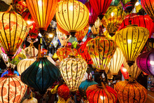 Chinese Lamps Hanging From The...