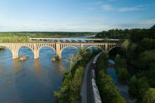 CSX A-Line Train Bridge In Ric...