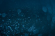 Abstract blue background with bokeh, bokeh background, Sparkle bokeh, Blue