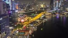 Singapore Night Downtown Core ...
