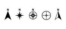 North Symbol Vector Set, Direc...