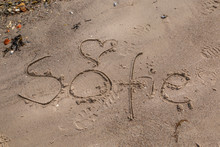 The Name Sofie Written In The ...