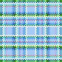 Seamless Checkered Pattern Fro...