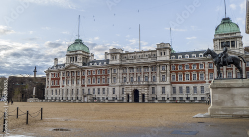 The Admiralty house in London Canvas Print