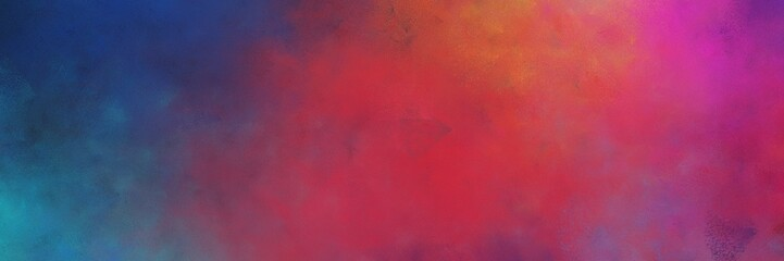 beautiful abstract painting background graphic with moderate red, dark slate gray and old mauve colors and space for text or image. can be used as horizontal background texture