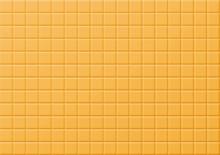 Seamless Pattern Illustration Of Golden Tiles Background