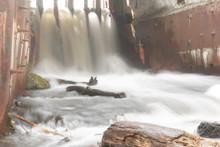 Waterfall Rapid Flow Of The Ri...