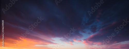 Obraz sky sunset background - fototapety do salonu