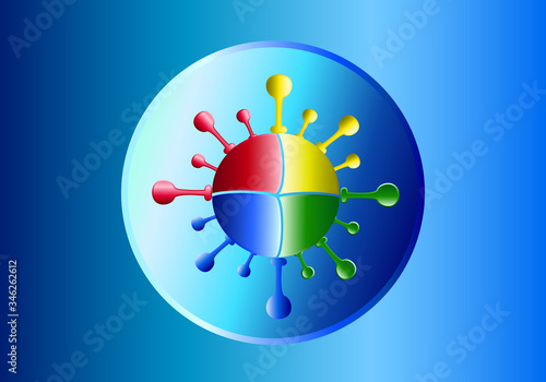 chipization, bill gates, microsoft, genocide, soros, who, chip, coronavirus, virus, danger, disease, clinton, death, healthy, epidemic, pandemic, covid-19, medical, medicine Wallpaper Mural