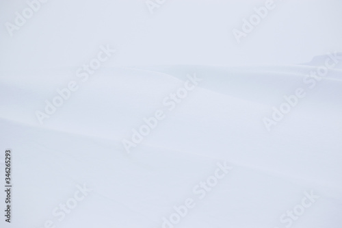 Full Frame Shot Of Snowfield Tablou Canvas