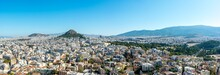 Panorama Of Athens, Greece Fea...