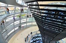 Interior Walkways Around Atrium