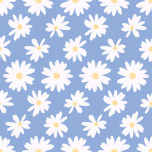 Simple Daisy Flower Background...