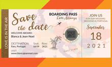 Save The Date Wedding Invitati...