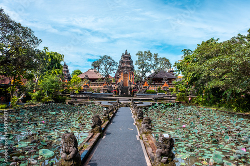 Foto Name of this place Saraswati Temple in Ubud Province, Bali Island