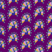 Seamless Vector Pattern With E...