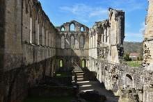 Rievaulx Abbey Against Sky